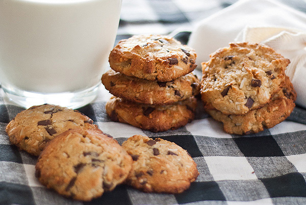 Almond, Coconut cookies 3 - 600 -post