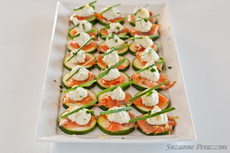 Salmon Cream Cheese bites