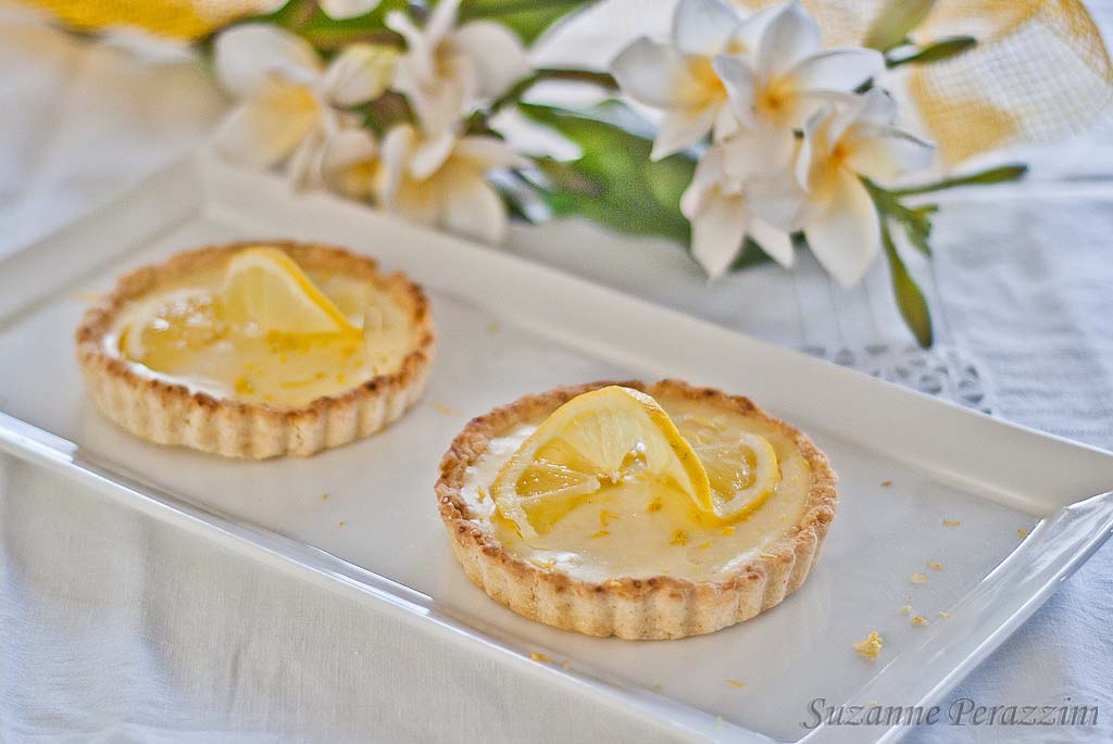 Creamy Lemon tarts - gluten-free and low-fructose