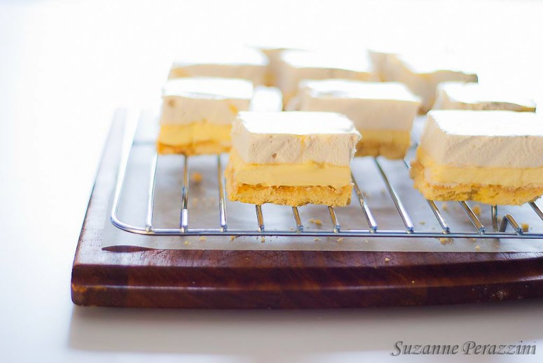 Lemon Marshmallow Slice -gluten-free & low FODMAP