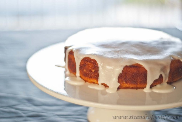 Lemon Potato Cake -gluten-free & low FODMAP