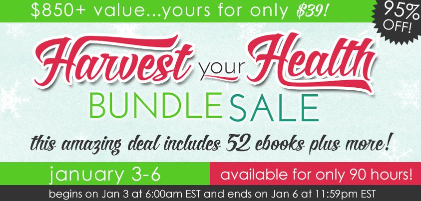 Harvest your Health book bundle