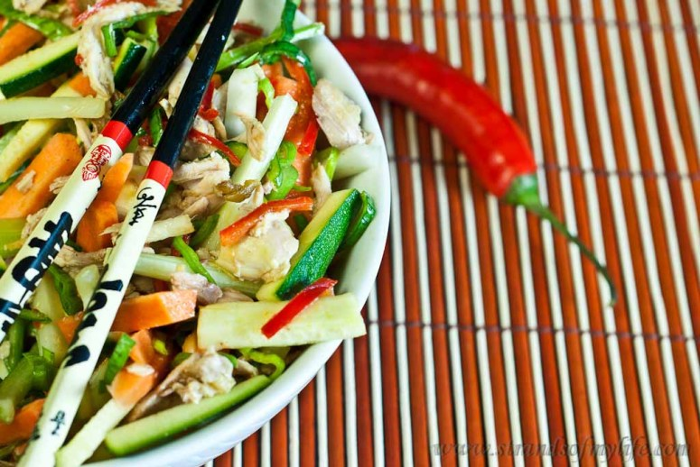 Asian-Style Chicken Salad – low FODMAP - image