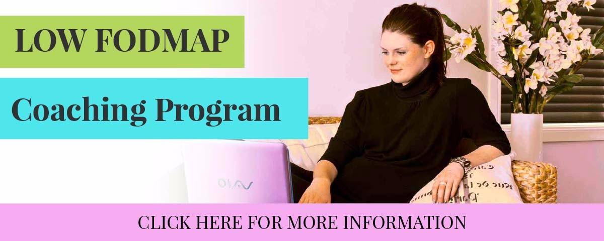 Low Fodmap Diet coaching program