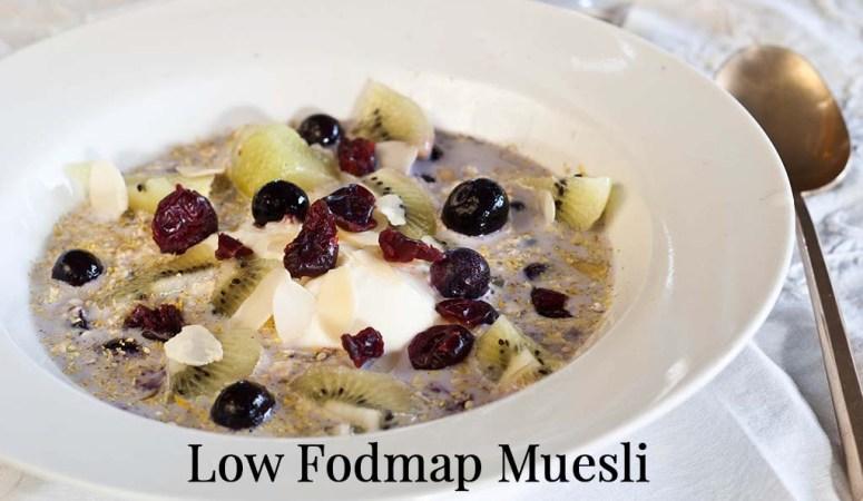 How to Make Low Fodmap Muesli