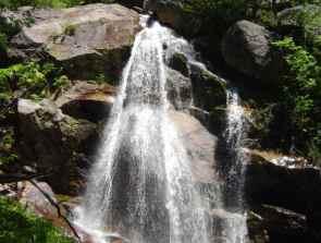 Close up of Glacial Park Falls
