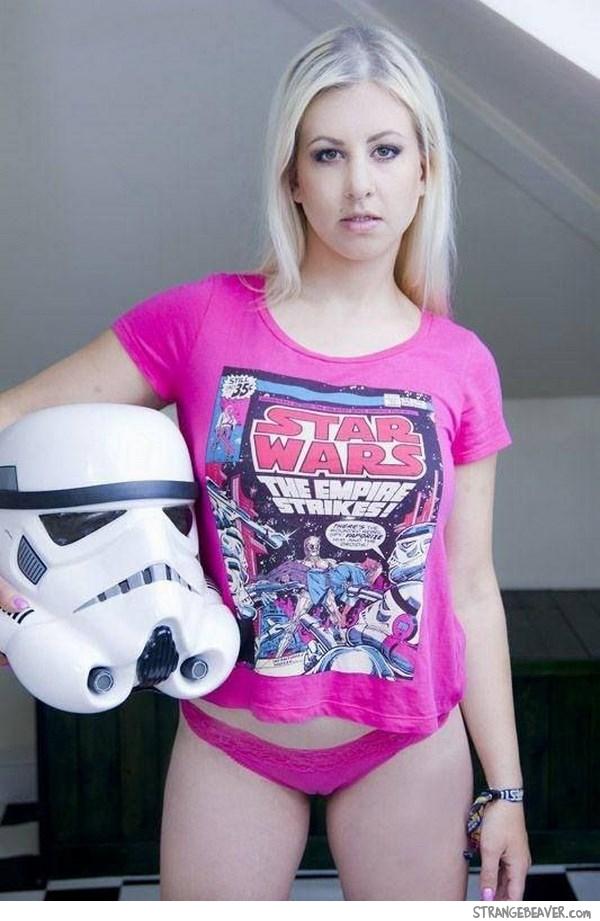 Wallpaper Geek Girl Star Wars Girls Make The World A Better Place Strange Beaver