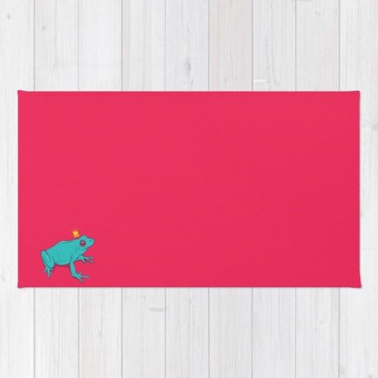 frog prince rug
