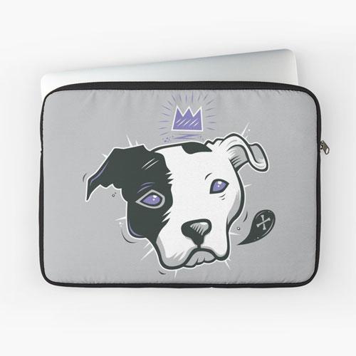pitbulls laptop sleeve