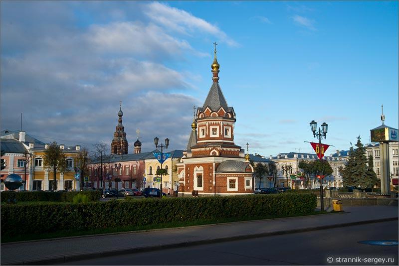 Ярославль часовня Александра Невского