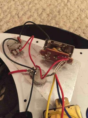 Yamaha Pacifica wiring Fender Stratocaster Guitar Forum