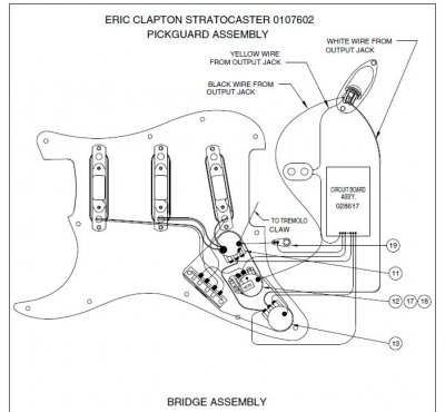 eric clapton wiring diagram steve fender stratocaster wiring diagram