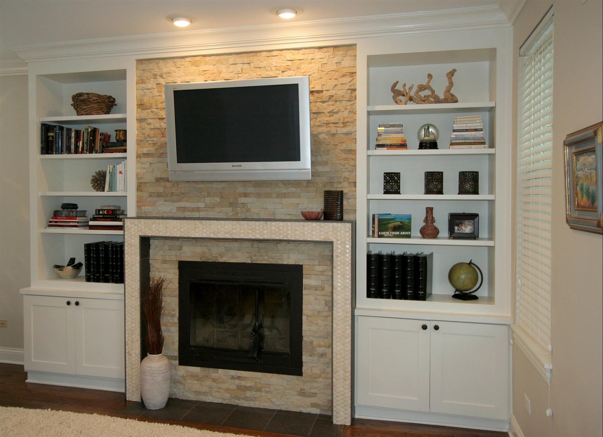 Built In Fireplace Entertainment Center Stratagem