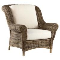 South Sea Rattan Provence Wicker Chair - WickerCentral.com