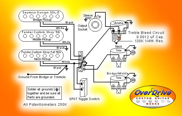 7 Sound Strat Wiring Diagram Wiring Diagram
