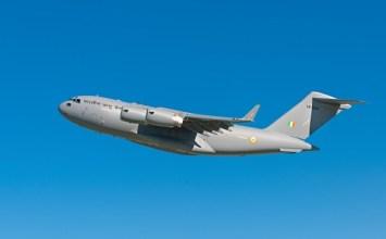 1st IAF C-17 in flight tests