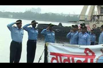 Video: Indian Foxtrot's last dive
