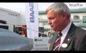 Video: Walk around the Saab Skeldar UAV