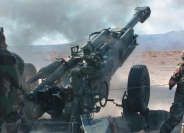 BAE brings out the big guns at DefExpo