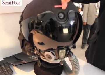 Video: BAE Systems hi-tech helmets for pilots and infantry at DefExpo