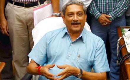 Defense Minister Manohar Parrikar   Photo: PIB