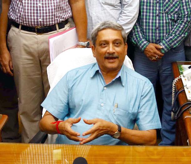 Defense Minister Manohar Parrikar | Photo: PIB