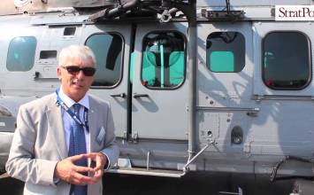 Video: RMAF H225M helo at #LIMA2015