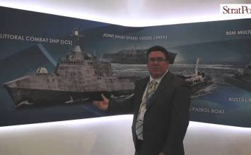 Video: Austal LCS at #IMDEXASIA 2015