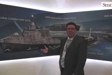 Video: Austal LCS at #IMDEXASIA 2015