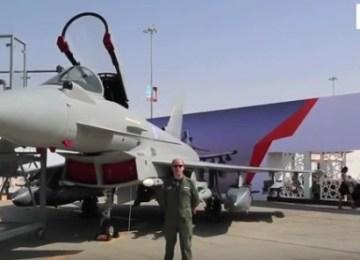 Video: Eurofighter Typhoon at Dubai Airshow 2015
