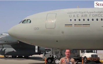 Video: UAE Air Force Airbus A330 MRTT at Dubai Airshow 2015