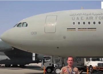 Video: UAE Air Force Airbus A330 MRTT at Dubai Airshow 2015