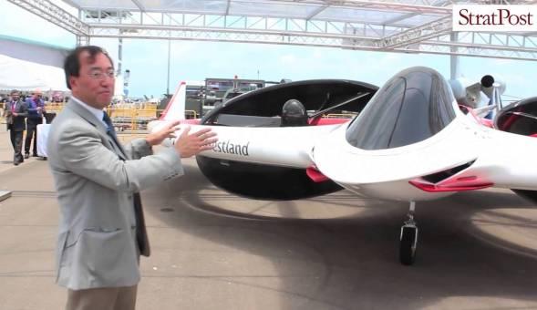 Video: Finmeccanica Project Zero at Singapore Airshow 2016