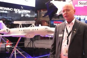 Video: Saab GlobalEye at Singapore Airshow 2016