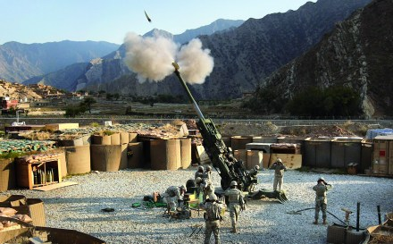 An M777 operating in Afghanistan | Photo: BAE Systems