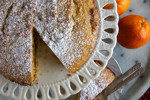 Orange-Cardamom Coffee Cake