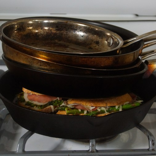 Make-shift Panini Press