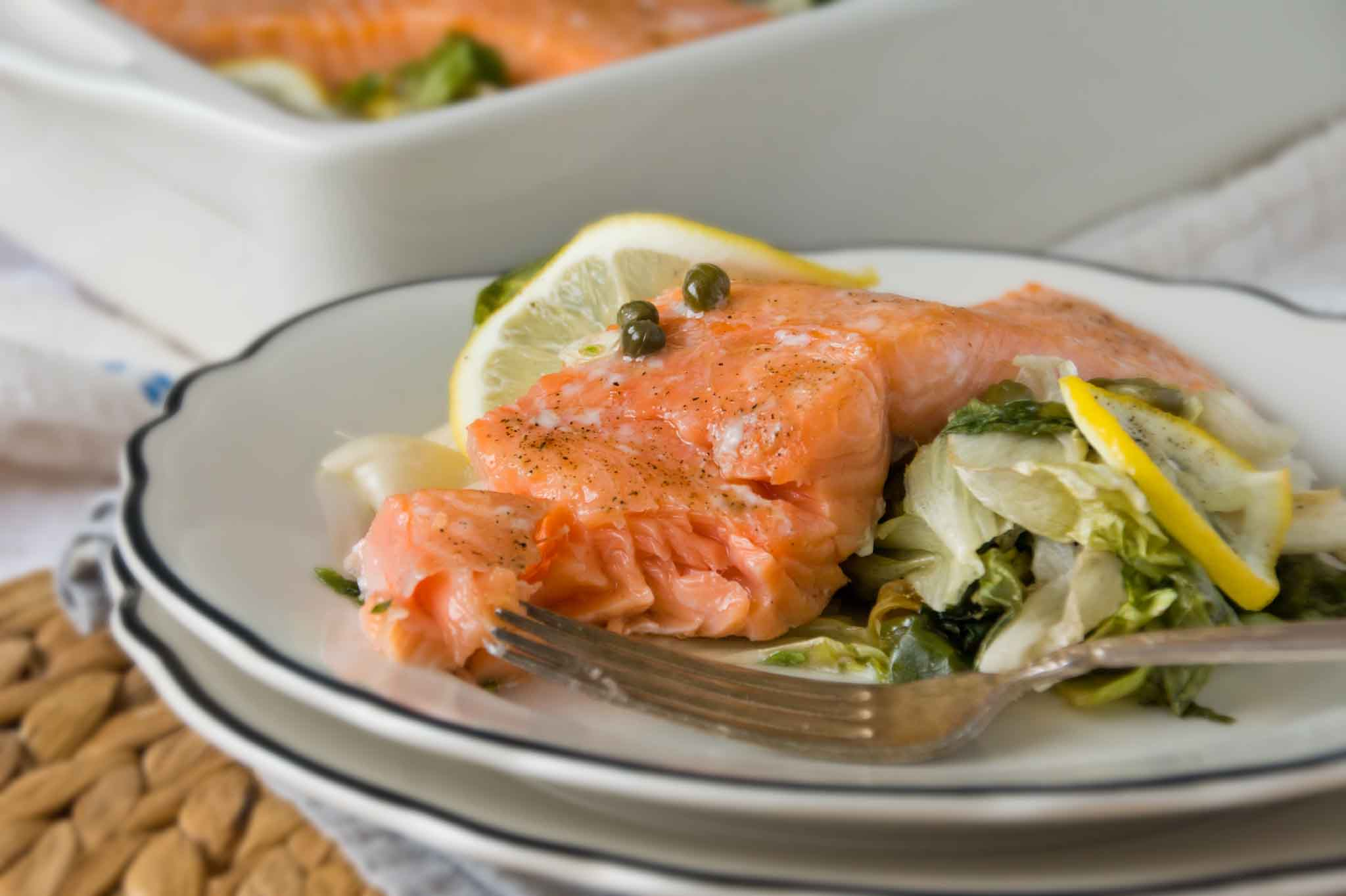 Fullsize Of Salmon With Capers