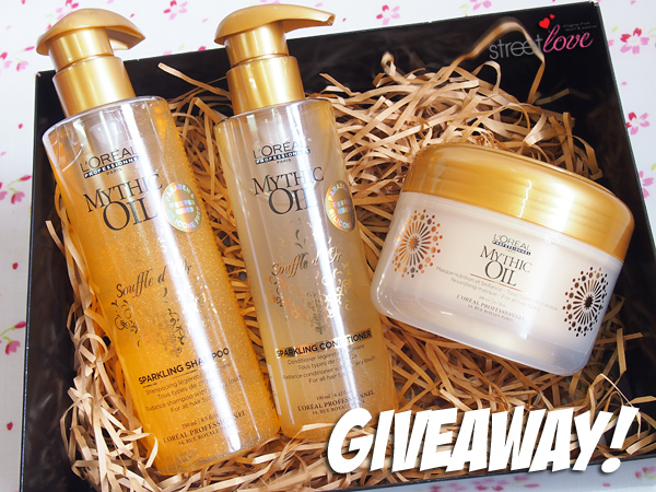 L'Oreal Professionnel Mythic Oil Range Giveaway 1