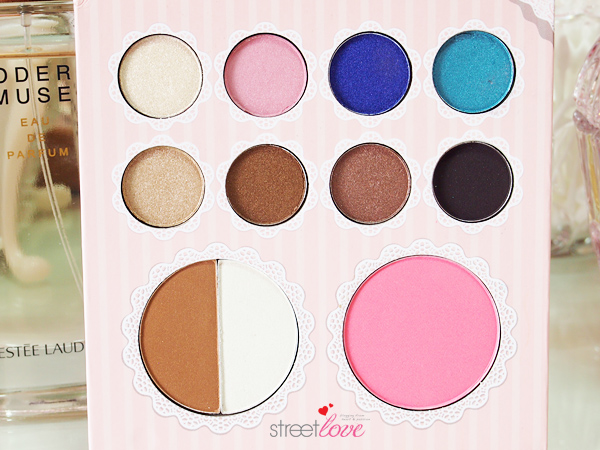 That's Heart Eyeshadow & Blush Palette Shades