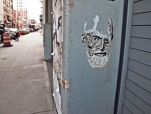 sigmund freud street art
