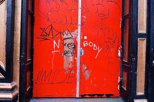 street art by nobody aka TMNK and jim joe in NYC