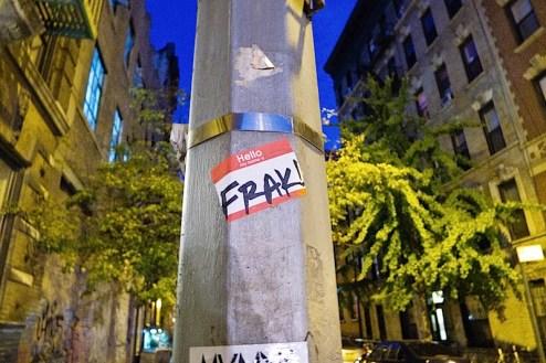 hello my name is frak street art sticker