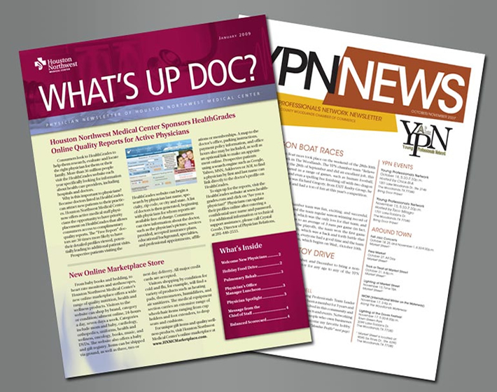 Newsletters Streeter Printing - company newsletters examples