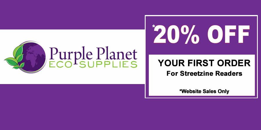 PURPLE PLANET – Eco-Friendly Mobile Catering and Take Away Disposables + 20% Off Your First Order!