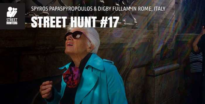 Street Hunt No17 - Street Photography in Rome, Italy
