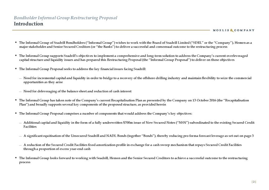 Form 6-K SEADRILL LTD For Jan 31 - subordination agreement template