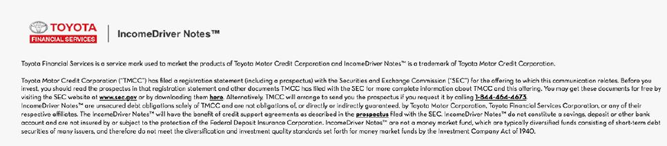 Form FWP TOYOTA MOTOR CREDIT CORP Filed by TOYOTA MOTOR CREDIT CORP