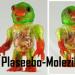 Molezilla-X Plaseebo_sofubi