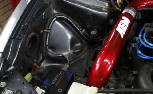 AEM_Cold_Air_Intake_and_Venom_400_module 1994 Acura
